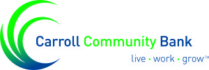 Carroll Community Bank live work grow