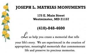 Joseph L. Mathias Monuments