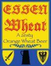 Essen Wheat A zesty Orange Wheat Beer