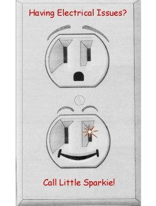 Having Electrical Issues? Call Little Sparkie!