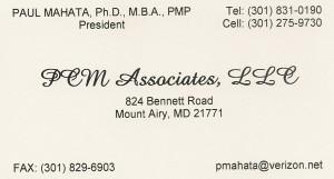 PCM Associates, LLC
