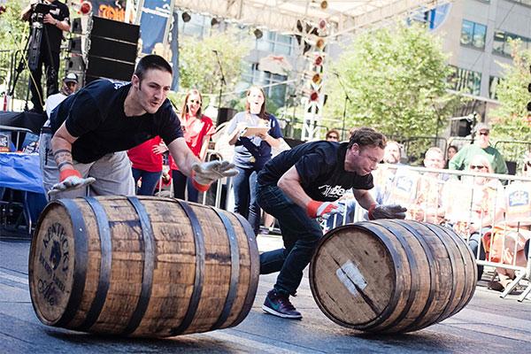 barrell rolling