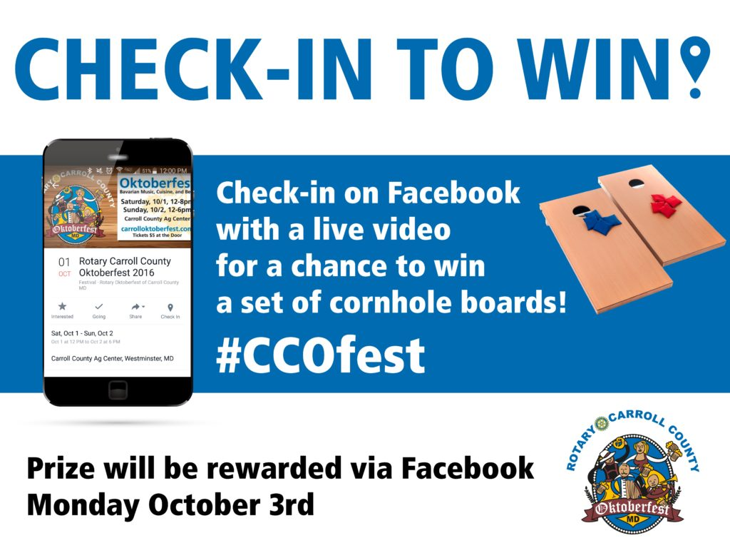 contest, oktoberfest, carroll county, live video,